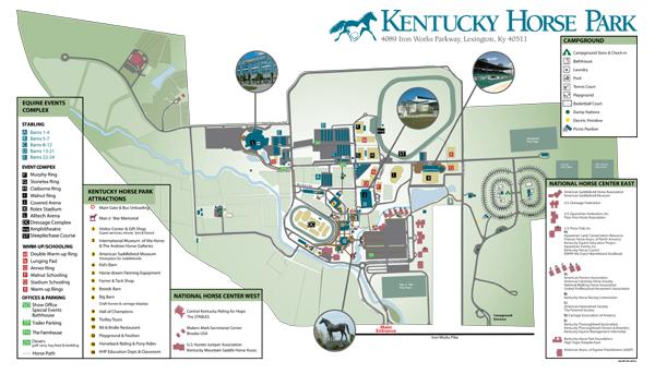 Park Maps Kentucky Horse Park