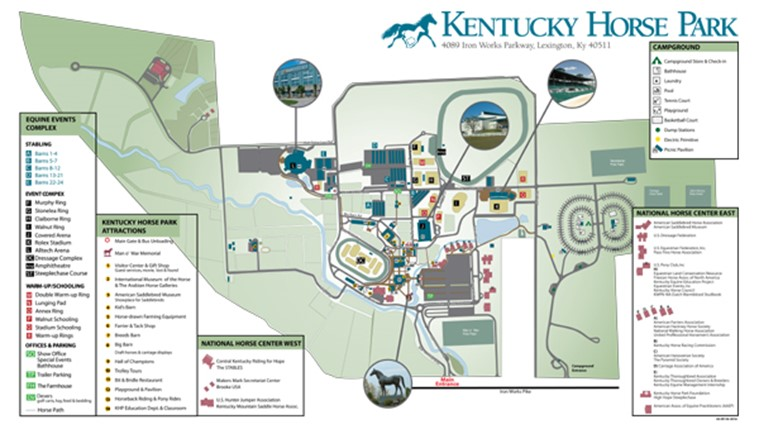 Comprehensive Facility Map