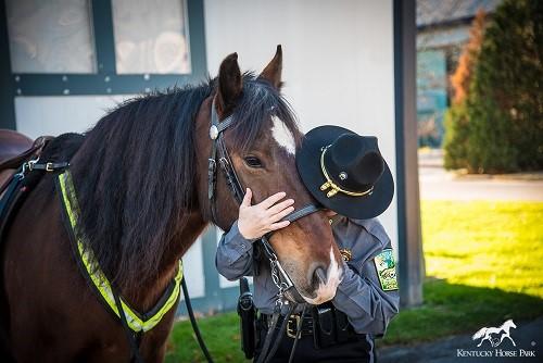 Mounted Police Barn Kentucky Horse Park