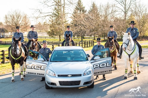The responsibilities of the KHP Mounted Police Department are: