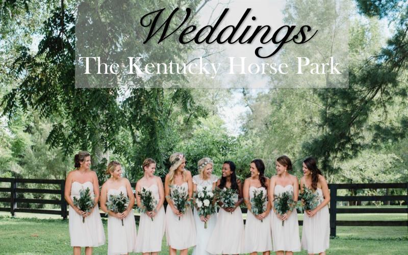 Weddings Kentucky Horse Park